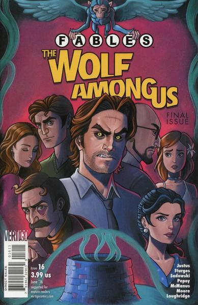 Fables: The Wolf Among Us 16 Issue #16