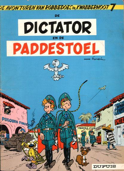 Robbedoes en Kwabbernoot 7 De dictator en de paddestoel