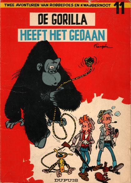Robbedoes en Kwabbernoot 11 De gorilla heeft het gedaan