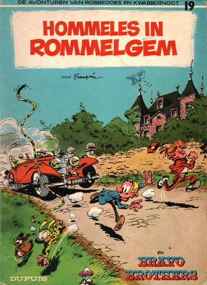 Robbedoes en Kwabbernoot 19 Hommeles in Rommelgem