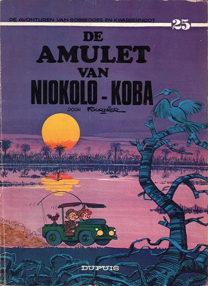 Robbedoes en Kwabbernoot 25 De amulet van Niokolo-Koba