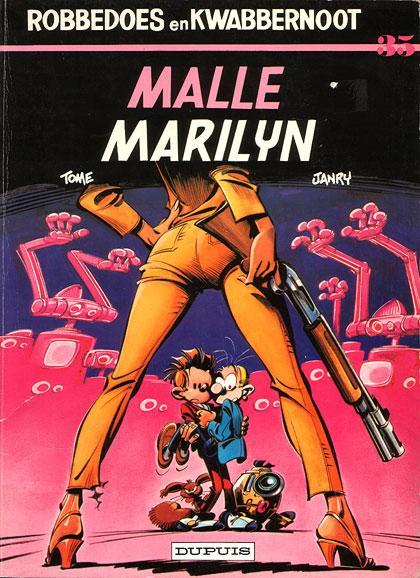Robbedoes en Kwabbernoot 35 Malle Marilyn