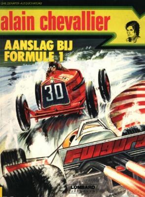 Alain Chevallier A4 Aanslag bij Formule 1
