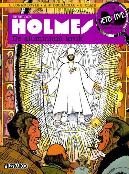 Sherlock Holmes (Lefrancq) 3 De aluminium kruk