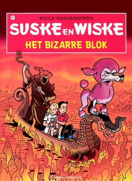 Suske en Wiske 317 Het bizarre blok