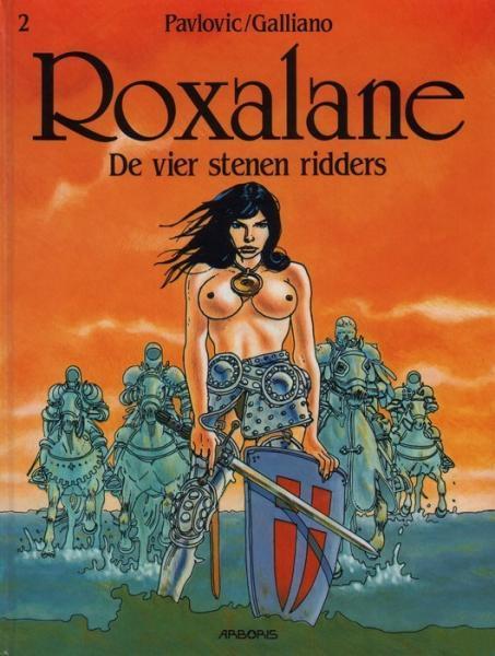Roxalane 2 De vier stenen ridders