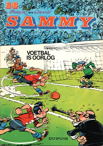 Sammy 14 Voetbal is oorlog