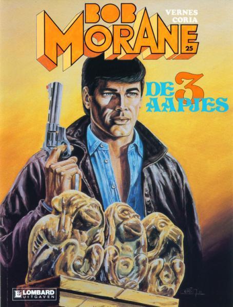 Bob Morane (Lombard/Helmond) 25 De 3 aapjes