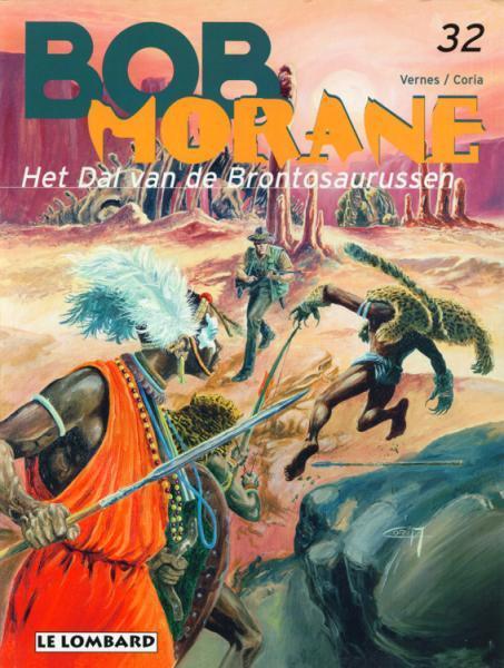 Bob Morane (Lombard/Helmond) 32 Het dal van de brontosaurussen