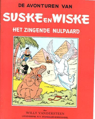 Suske en Wiske 12 Het zingende nijlpaard