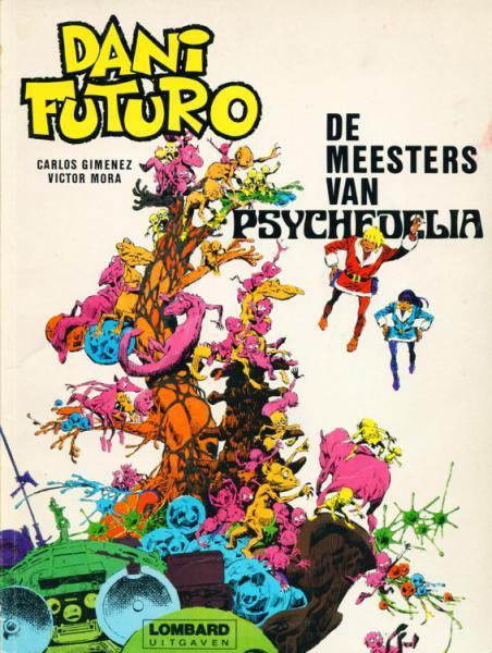 Dani Futuro 4 De meesters van Psychedelia
