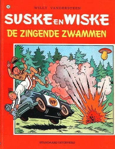 Suske en Wiske 110 De zingende zwammen