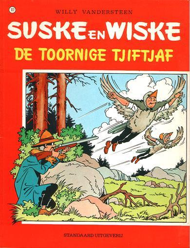 Suske en Wiske 117 De toornige tjiftjaf