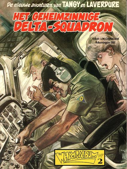 Tangy en Laverdure (Dargaud/Lombard/Oberon) 19 Het geheimzinnige Delta-squadron