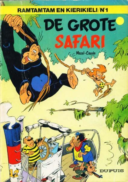 Vergeten jungle 1 De grote safari