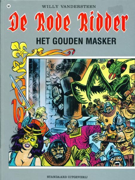 De Rode Ridder 160 Het gouden masker