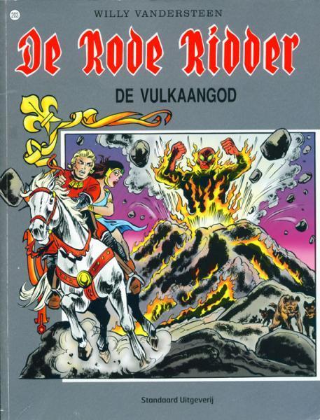De Rode Ridder 203 De vulkaangod