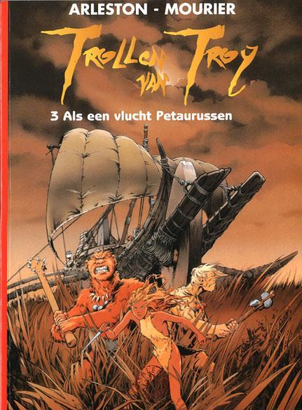 Trollen van Troy 3 Als een vlucht Petaurussen