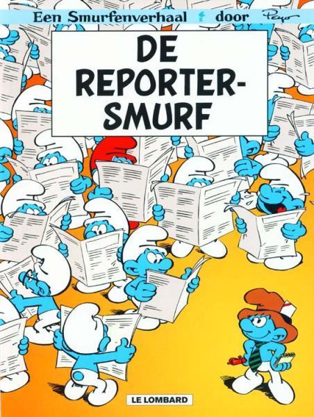 De Smurfen 23 De reportersmurf