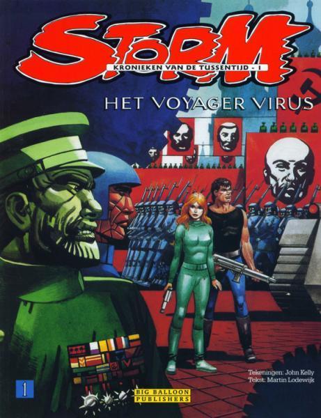 Storm - Kronieken van de tussentijd 1 Het Voyager virus