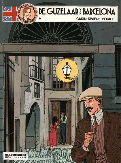 Victor Sackville, spion van Georges V 6 De gijzelaar van Barcelona