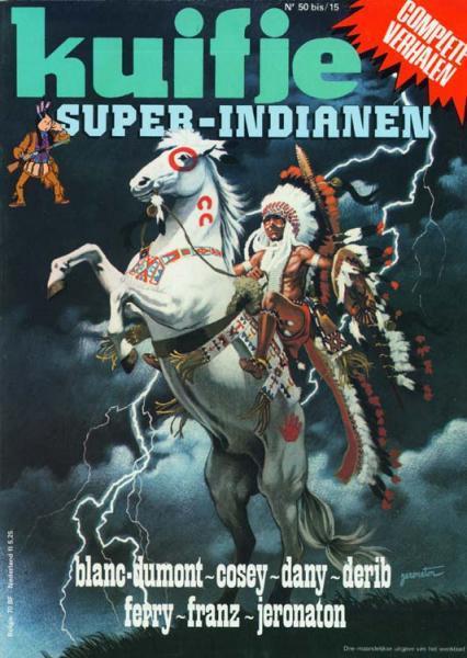 Super Kuifje 15 Indianen