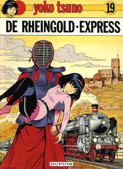 Yoko Tsuno 19 De Rheingold-Express