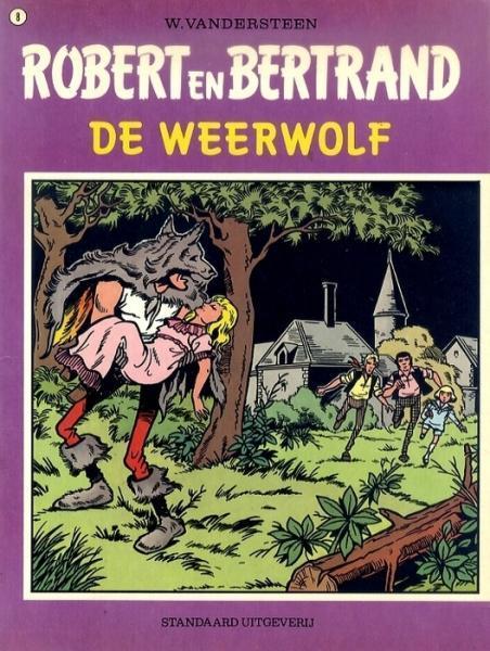 Robert en Bertrand 8 De weerwolf