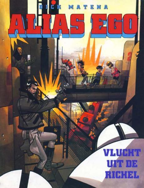 Alias Ego 1 Vlucht uit de richel