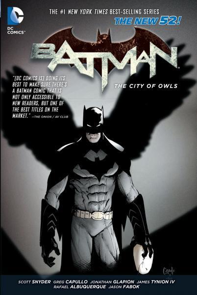 Batman INT A2 City of Owls