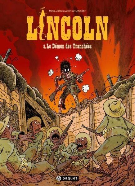Lincoln 8 Le démon des tranchées