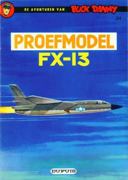 Buck Danny 24 Proefmodel FX-13