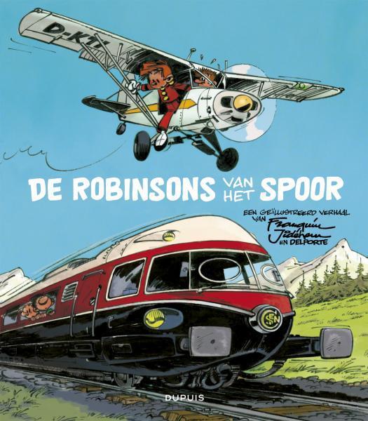 Robbedoes en Kwabbernoot (Dossieruitgaven) 4 De robinsons van het spoor