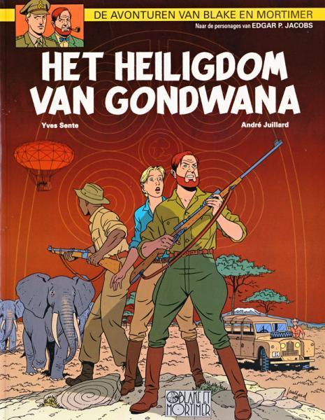 Blake en Mortimer 18 Het heiligdom van Gondwana