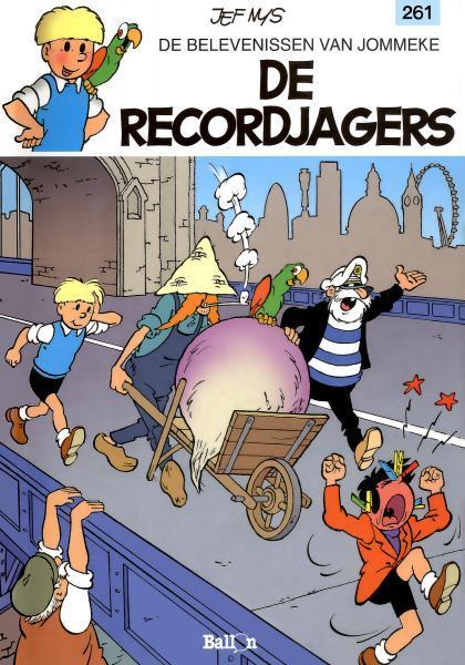 Jommeke 261 De recordjagers