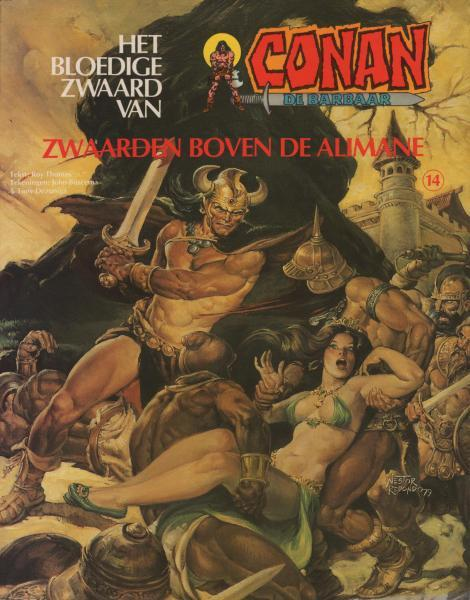 Het bloedige zwaard van Conan de barbaar 14 Zwaarden boven de Alimane