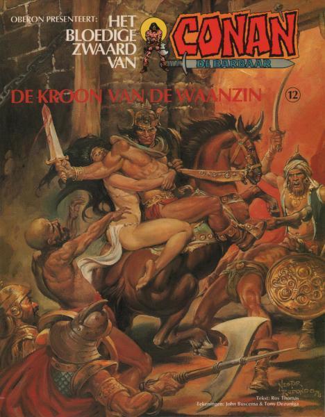 Het bloedige zwaard van Conan de barbaar 12 De kroon van de waanzin
