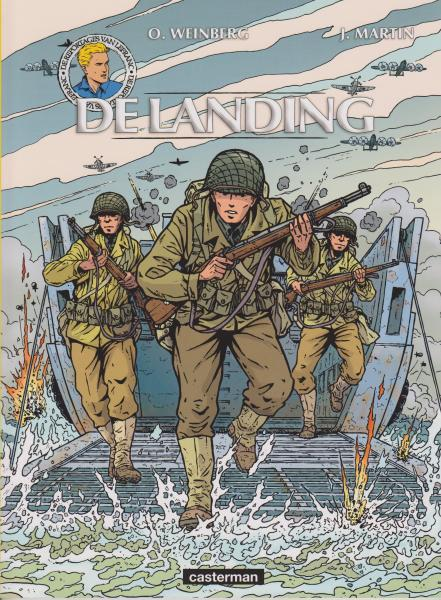 De reizen van Lefranc 5 De landing