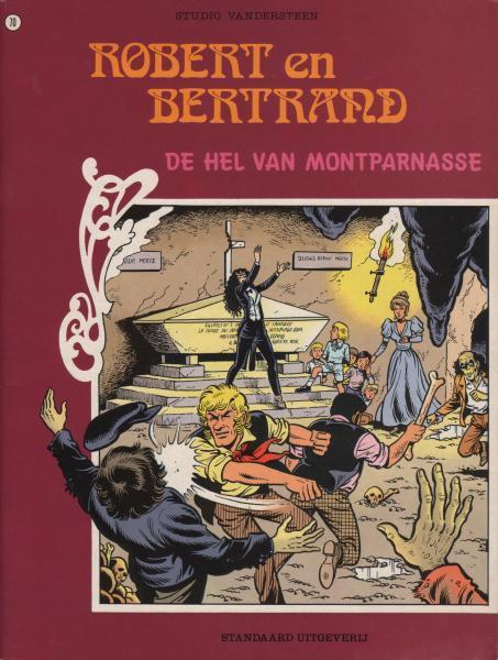 Robert en Bertrand 70 De hel van Montparnasse