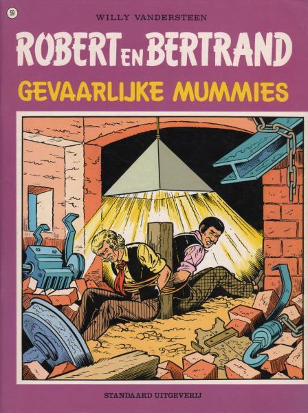 Robert en Bertrand 59 Gevaarlijke mummies