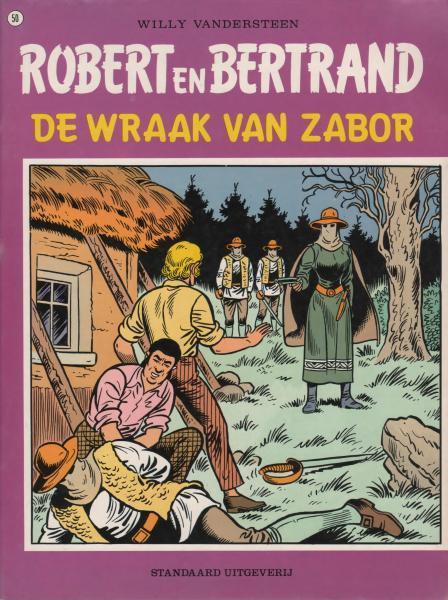 Robert en Bertrand 50 De wraak van Zabor
