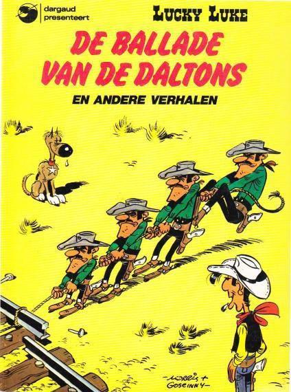 Lucky Luke (Dargaud/Lucky Comics) 17 De ballade van de Daltons