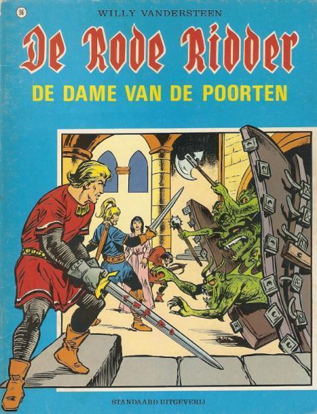 De Rode Ridder 96 De dame van de poorten