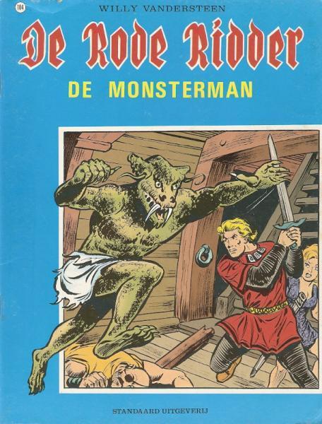 De Rode Ridder 104 De monsterman