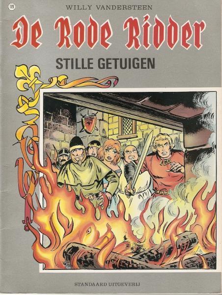 De Rode Ridder 119 Stille getuigen