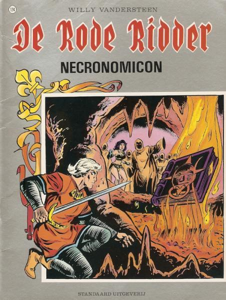 De Rode Ridder 124 Necronomicon