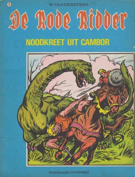 De Rode Ridder 39 Noodkreet uit Cambor