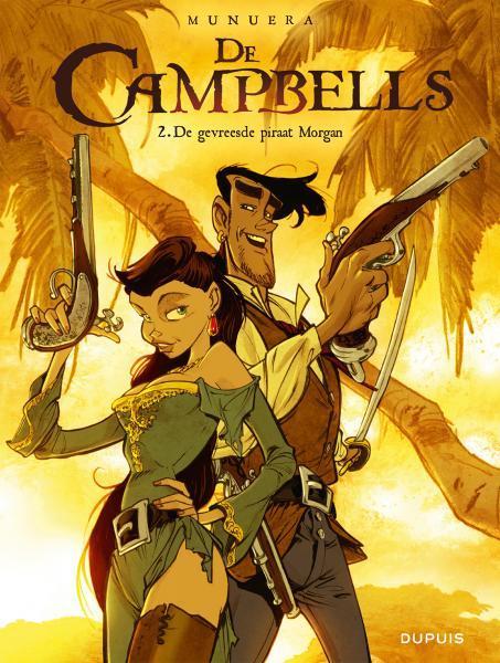 De Campbells 2 De gevreesde piraat Morgan