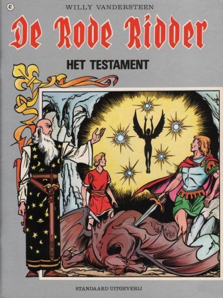 De Rode Ridder 42 Het testament