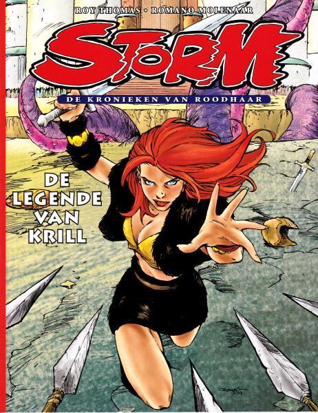 Storm - De kronieken van Roodhaar 1 De legende van Krill